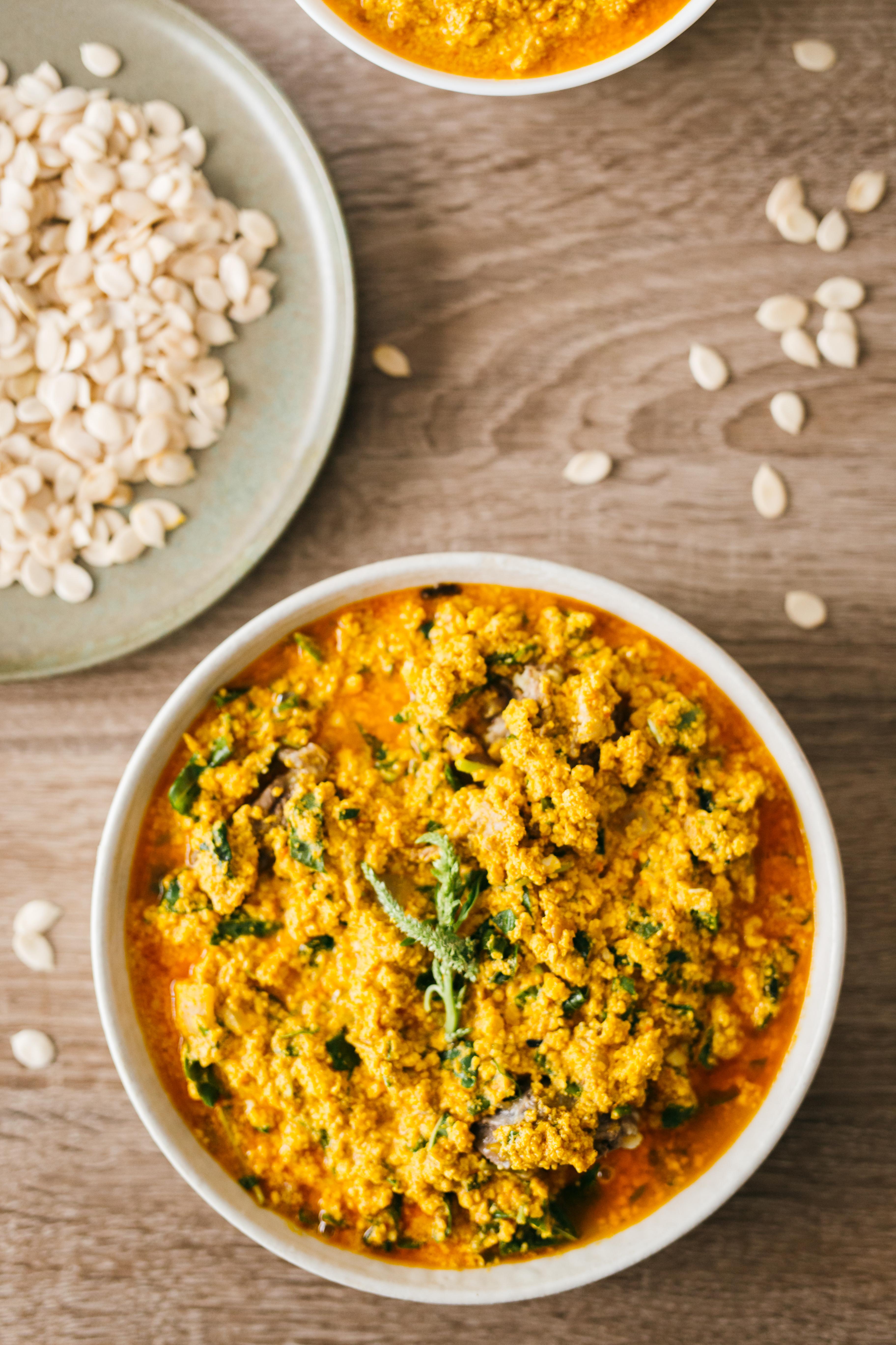 Egusi Soup Vibrant West Afrian Cuisine