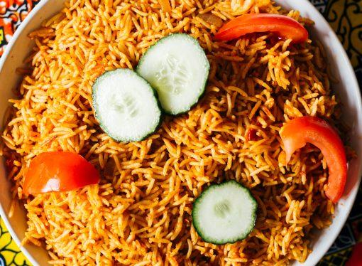 My Neighbour's Special Ramadan Jollof rice