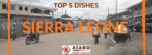 Top 5 Nigerian Dishes